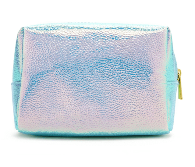 FOREVER 21 Holographic Pebbled Makeup Bag Seafoam/olive - comprar online