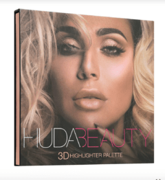HUDA BEAUTY - 3D HIGHLIGHTER PALETTE PINK SANDS EDITION - Vanity Shop