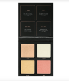 HUDA BEAUTY - 3D HIGHLIGHTER PALETTE PINK SANDS EDITION - comprar online