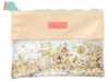 BENEFIT - CONFETTI WATER MAKEUP BAG