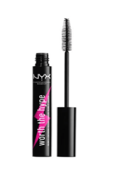 NYX - WORTH THE HYPE voluminizing & lengthening MASCARA.