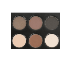 LA COLORS - I HEART MAKEUP BROW PALETTE MEDIUM-DARK