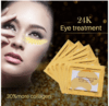 GOLD MASK - CRYSTAL COLLAGEN GOLD POWDER EYE MASK - comprar online
