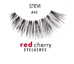 RED CHERRY EYELASHES - 100% HUMAN HAIR - PESTAÑAS - comprar online