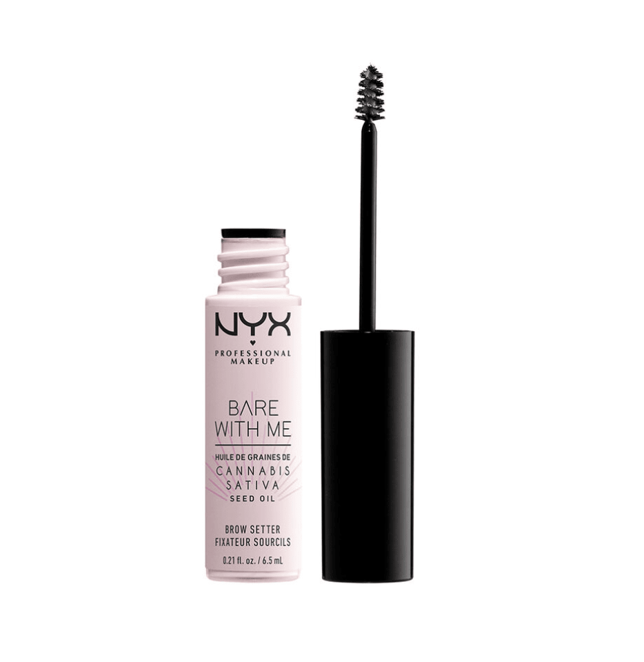 NYX - BARE WITH ME CANNABIS SATIVA SEED OIL BROW SETTER