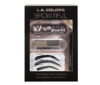 L.A. Colors - Browtiful Travel Ready Brow Kit Medium dark