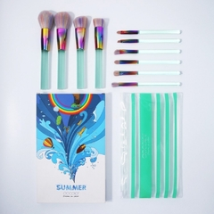 DOCOLOR - Midsummer Night Dream 10pc Brush Set .