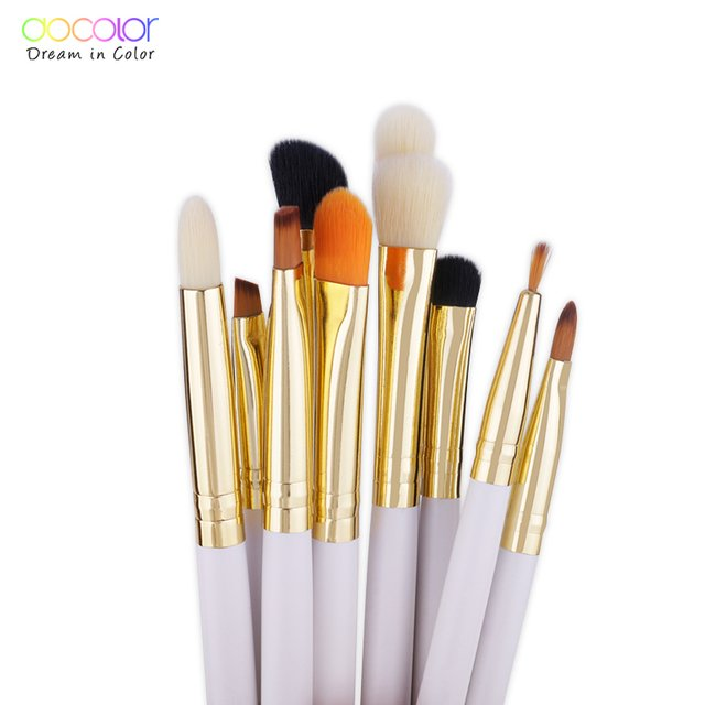 DOCOLOR 10 Pieces Eye Makeup Brush Set - DB1004 en internet
