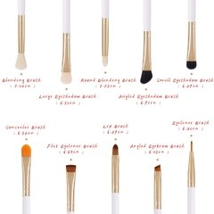 DOCOLOR 10 Pieces Eye Makeup Brush Set -ojos .