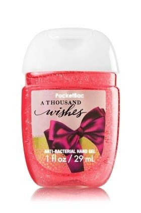 BATH & BODY WORKS - ANTIBACTERIAL HAND GEL POCKETBAC - EXQUISITAS FRAGANCIAS - comprar online