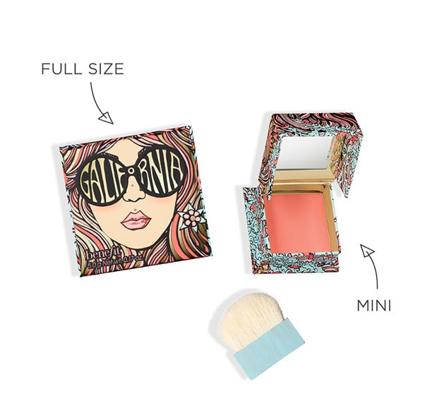 BENEFIT - GALIFORNIA BLUSH TRAVEL SIZE en internet