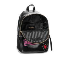 VICTORIA'S SECRET - PATCH SMALL CITY BLACK BACKPACK na internet