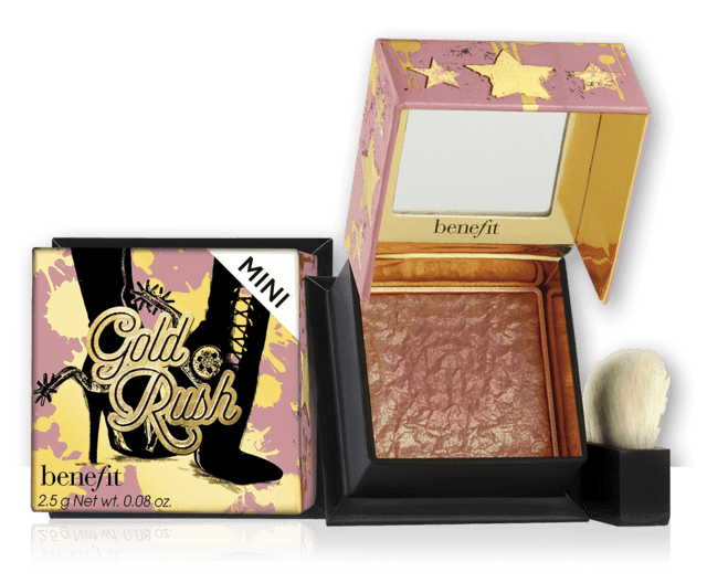 BENEFIT - GOLD RUSH BLUSH - TRAVEL SIZE
