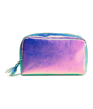 H&M MAKE-UP BAG PORTACOSMETICOS HOLO SIREN - comprar online