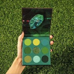 DOCOLOR - Gemstone Time - 9 Colors Shadow Palette (Green) en internet
