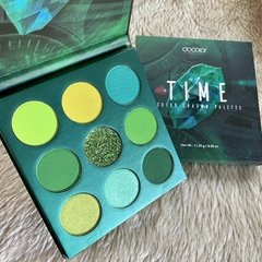 DOCOLOR - Gemstone Time - 9 Colors Shadow Palette (Green)