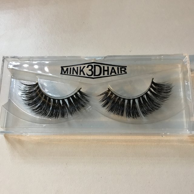 FALSE LASHES MINK 3D HAIR - PESTAÑAS POSTIZAS DE TIRA en internet