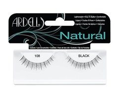 Ardell - Natural Lashes 108 Black - pestañas postizas