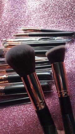 DOCOLOR - 15 Pieces Rose Gold Makeup Brushes Set - DC1501 . - tienda online