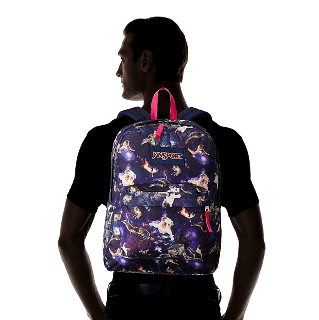 JANSPORT - MOCHILA SUPERBREAK MULTI ASTRO KITTY en internet