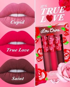 LIME CRIME - TRUE LOVE LIPSTICK SET