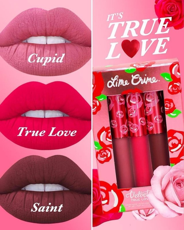 LIME CRIME - TRUE LOVE LIPSTICK SET - comprar online