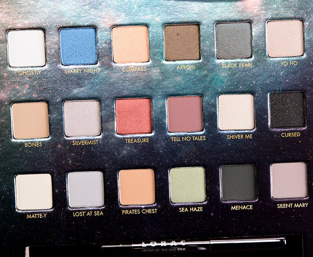 LORAC - PIRATES OF THE CARIBBEAN EYESHADOW PALETTE - tienda online