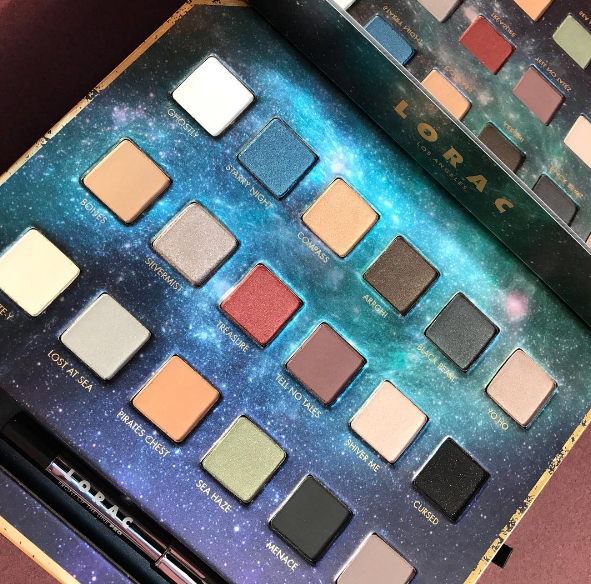 LORAC - PIRATES OF THE CARIBBEAN EYESHADOW PALETTE - comprar online
