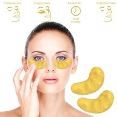 GOLD MASK - CRYSTAL COLLAGEN GOLD POWDER EYE MASK - Vanity Shop