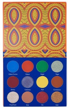 JUVIA'S PLACE - THE AFRIQUE PALETTE - comprar online