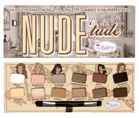 THE BALM - NUDE TUDE - EYESHADOW PALETTE - comprar online