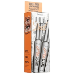BENEFIT COSMETICS - They're Real Double Deal full size x 2 mascara en internet