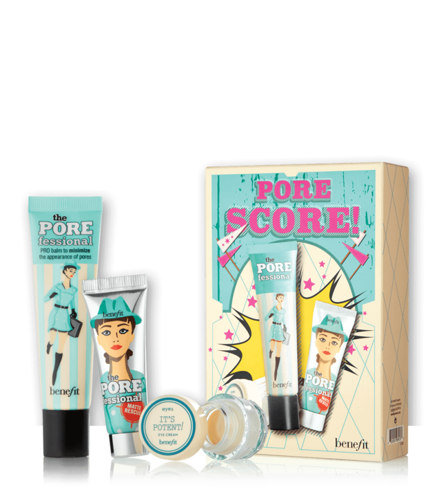 BENEFIT - PORE SCORE! POREFESSIONAL SET