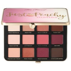 TOO FACED Just Peachy Velvet Matte Eyeshadow Palette – Peaches and Cream Collection