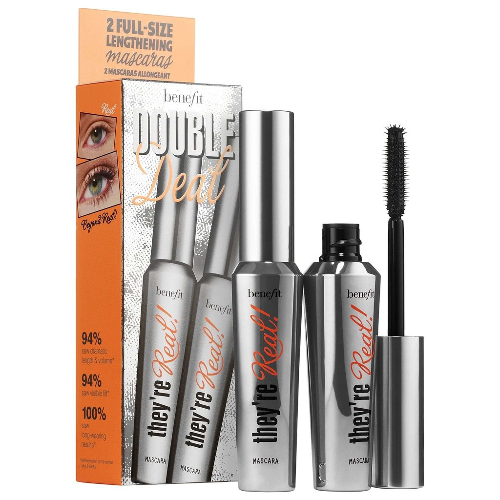 BENEFIT COSMETICS - They're Real Double Deal full size mascara