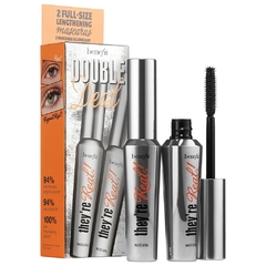 BENEFIT COSMETICS - They're Real Double Deal full size x 2 mascara