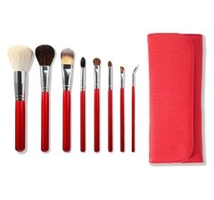 MORPHE SET 700 - 8 PIECE CANDY APPLE RED SET