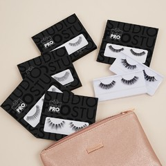 BH COSMETICS - STUDIO PRO FALSE EYELASHES + GLUE