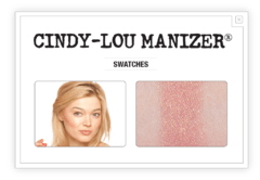 THE BALM - CINDY-LOU MANIZER Highlighter, Shadow & Shimmer