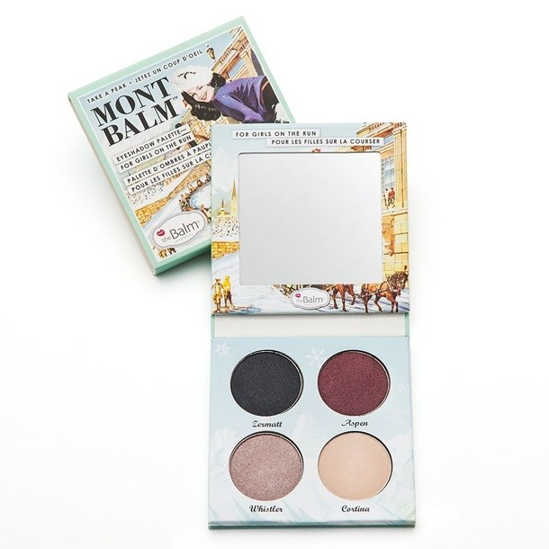 THE BALM - MONT BALM EYESHADOW PALETTE FOR GIRLS ON THE RUN en internet