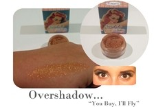 THE BALM - OVERSHADOW SHIMMERING ALL-MINERAL EYESHADOW / HIGHLIGHT PIGMENTOS - tienda online