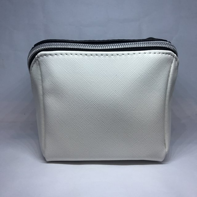 SEPHORA - BLACK & WHITE SQUARE COSMETIC BAG - tienda online