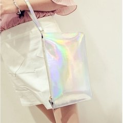 HOLOGRAPHIC MAKE UP BAG / CLUTCH - Vanity Shop