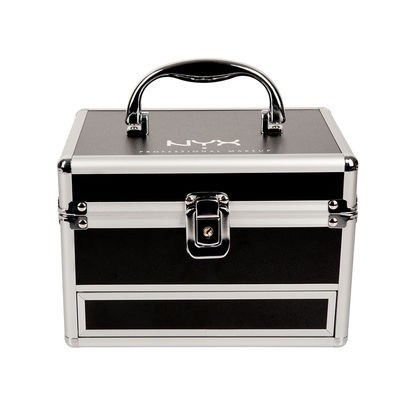 NYX TRAIN CASE MALETIN APERTURA PLEGABLE - EXCLUSIVO CON LLAVE