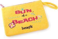 BENEFIT - SUN OF A BEACH LIMITED EDITION PLUSH BAG