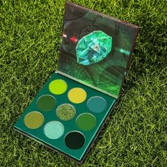 DOCOLOR - Gemstone Time - 9 Colors Shadow Palette (Green) - comprar online