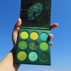 DOCOLOR - Gemstone Time - 9 Colors Shadow Palette (Green) - Vanity Shop