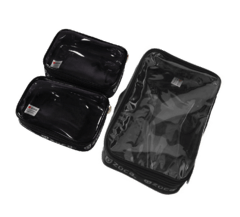 ZUCA Utility Pouch Combo 3 Set - One Large and Two Mini Utility Pouches Organizador