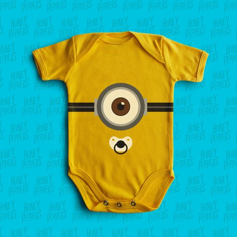 BODY BEBE DIVERTIDO MINION