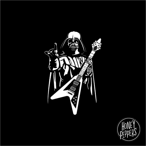 CAMISETA FILME DARTH VADER STAR WARS - DARTH ROCK - comprar online